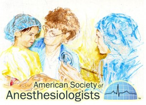 Anesthesiologist with Child Patient
